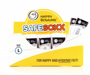 HAPPY BOWLING SAFESOXX SIZE L 45 AND ABOVE BOX/100