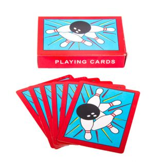Bowling Playing Cards (1 Pack)