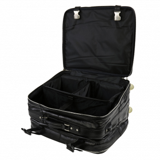 BOWLTECH ABS LEATHER 2-BALL CASE BLACK